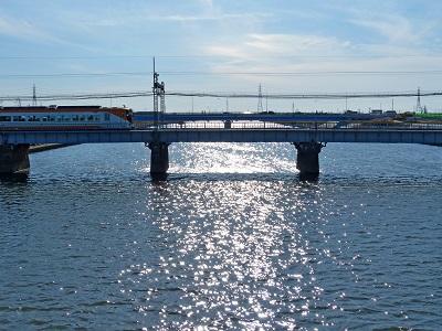 日光川近鉄鉄橋