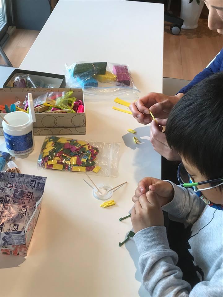 第11回 蟹江町マルシェ エコ教室の風景